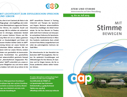 14.-20.07.2019 |AAP-Intensivwoche auf dem Hesselberg